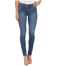 Nydj Joanie Skinny Indigo Knit Pull On Leggings In Hadley Hadley Women's Casual Pants Blue