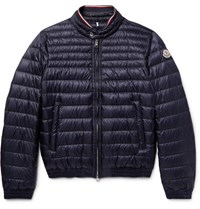 Moncler Garin Quilted Shell Down Jacket Navy