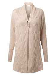 East Cable Cardigan Oyster