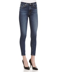 Alexa Chung For Ag The Brianna High Waist Skinny Jeans 07Y Brazen
