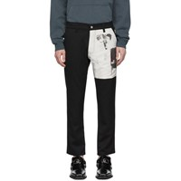 Enfants Riches Deprimes Black Patch Trousers