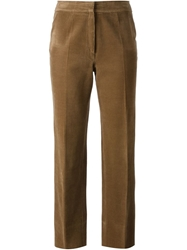 Celine Vintage Corduroy Trousers Brown