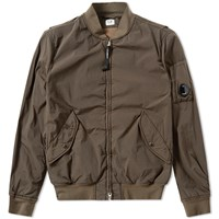 C.P. Company Arm Lens Bomber Jacket Green