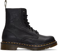 Dr. Martens Black Eight Eye Pascal Boots