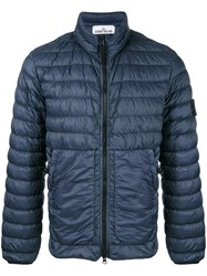 Stone Island Padded Jacket Blue