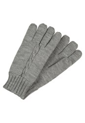 Your Turn Gloves Light Grey Melange Mottled Light Grey