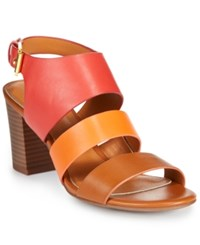 American Living Wakely Dress Sandals A Macy's Exclusive Style Tan Orange Red