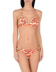 Nadia Guidi Bikinis Red