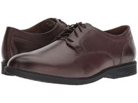 Hush Puppies Shepsky Pt Oxford Dark Brown Leather Shoes