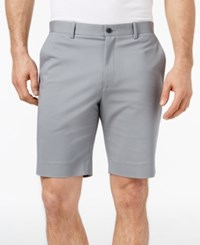 Alfani Men's Flat Front Shorts Created For Macy's Gridion