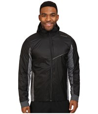 Brooks Lsd Thermal Jacket Black Heather Black Men's Coat