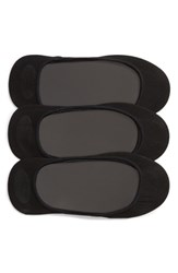 Hue 3 Pack Shade Match Sock Liners Black