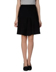 Schumacher Knee Length Skirts Black