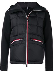 Moncler Grenoble Hooded Cardigan Black