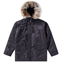 Neighborhood N3 B Parka Black