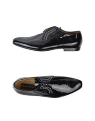Cesare Paciotti Lace Up Shoes Black