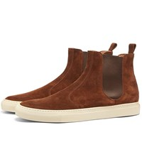 Buttero Tanino Suede Chelsea Boot Brown