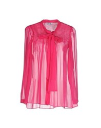 Moschino Cheap And Chic Moschino Cheapandchic Shirts Shirts Women Fuchsia