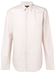 Theory Irving Button Shirt Pink