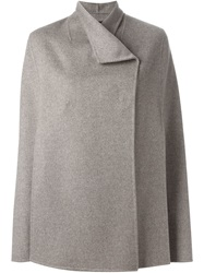 Joseph Double Breasted Cape Coat Nude And Neutrals