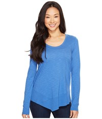 Lilla P Long Sleeve Scoop Neck River Women's Clothing Blue