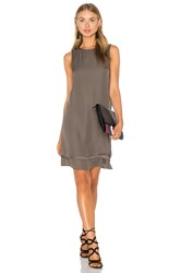 Heather Georgette Layered Dress Sage