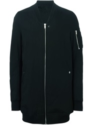 Rick Owens Feather Down Bomber Jacket Black