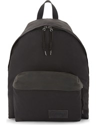 Eastpak Axer Padded Pak'r Coated Canvas Backpack Black