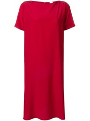 Aspesi Shift Dress Red