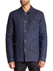 Wesc Eagle Long Sleeve Shirt Blue Rinse