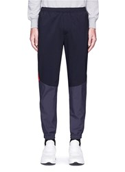 Tim Coppens Colourblock Panel Jogging Pants Grey