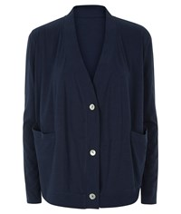 People Tree Casey Cardigan Navy