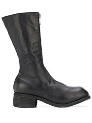 Guidi Mid Calf Leather Boots 60