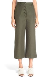 Proenza Schouler Women's Cotton Canvas Suiting Culottes
