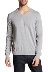 Slate And Stone V Neck Sweater Gray
