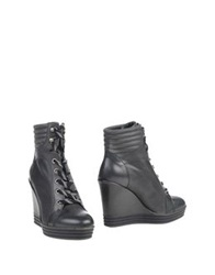 Hogan Rebel Ankle Boots Steel Grey