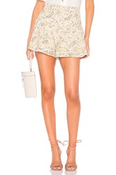 Free People Shallow Waters Short Yellow
