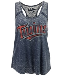 G3 Sports Women's Minnesota Twins Racerback Tank Red