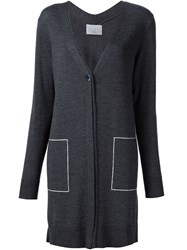 Grey Jason Wu V Neck Long Cardigan Grey