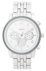 Junior Women's Bp. Bracelet Watch 36Mm Silver
