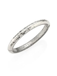 John Hardy Classic Chain Medium Hammered Sterling Silver Bangle