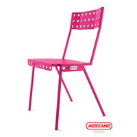 Meccano Home Bistrot Chair Pink
