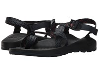 Chaco Z 2 R Classic Stepped Navy Sandals Black