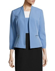 Nipon Boutique Solid Open Front Jacket