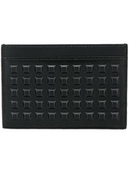 Balenciaga Studded Card Holder Black