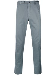 Pt01 Textured Trousers Grey