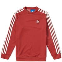Adidas Superstar Crew Sweat Red