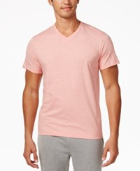 Alfani Men's V Neck Undershirts 4 Pack Only At Macy's Vibrant Coral