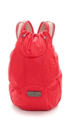 Adidas By Stella Mccartney Running Cycling Backpack Scarlet Red