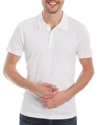 Lucky Brand Solid Polo Bright White